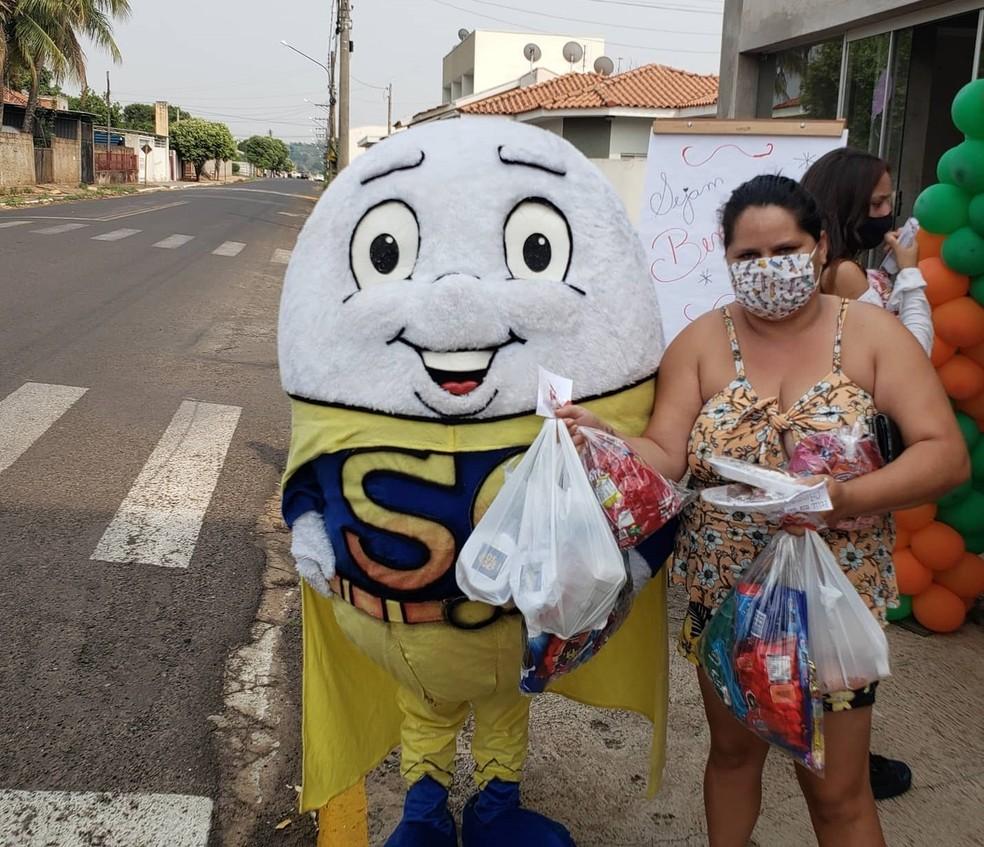 Semana do Ovo 2020 terá caráter social, com distribuição de alimentos arrecadados — Foto: Divulgação