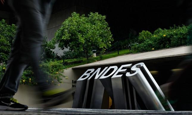 Prédio sedo do BNDES, a Chile, centro do Rio de Janeiro (Foto: Foto: Pedro Teixeira / Agência O Globo)