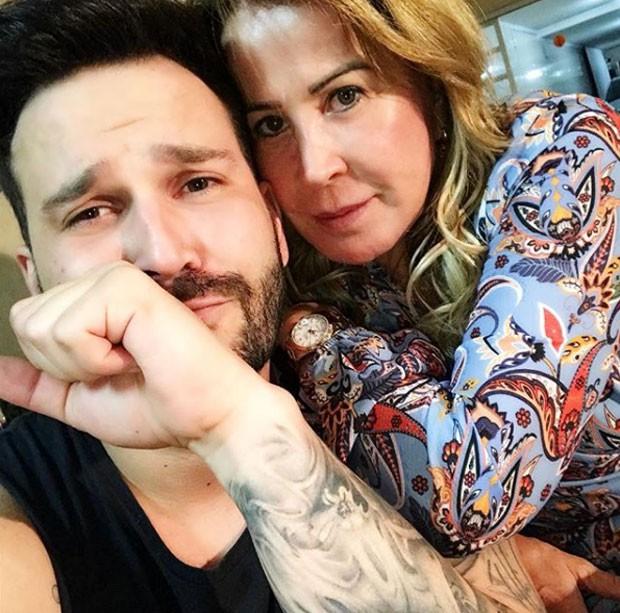 Zilu e Marco Augusto Ruggiero em foto da semana passada (Foto: Reprodução Instagram)