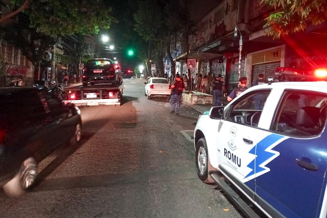 Fiscalização flagra sete estabelecimentos abertos além do horário permitido em Porto Alegre