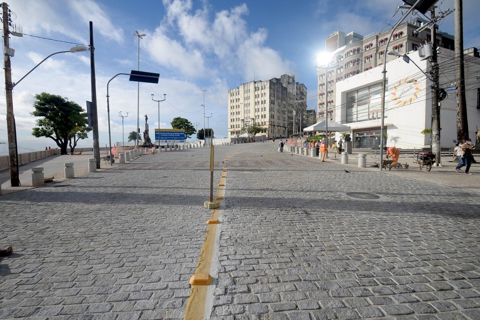 Nova Praça Castro Alves, em Salvador — Foto: Divulgação/Secom