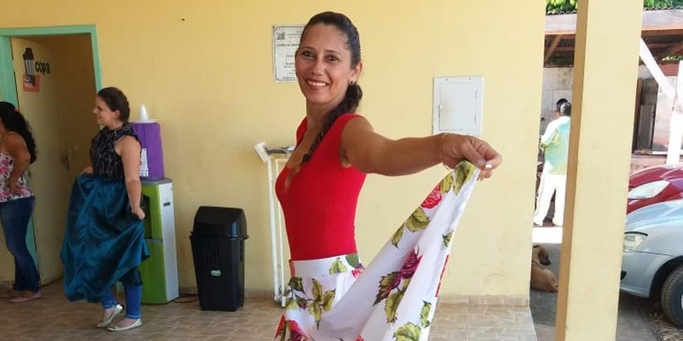 Edna Braz de Lima foi assassinada em 16 de julho deste ano.  — Foto: Reprodução/ Facebook