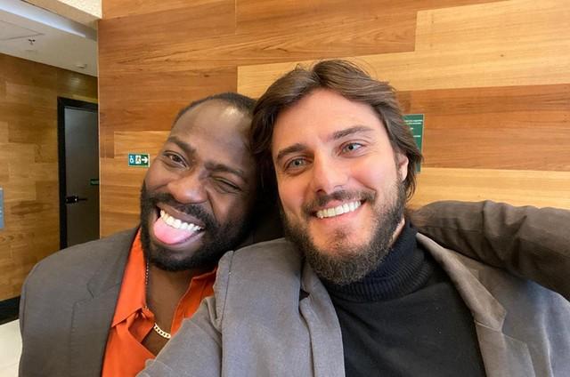 Douglas Silva e Hugo Bonemer (Foto: Arquivo pessoal)