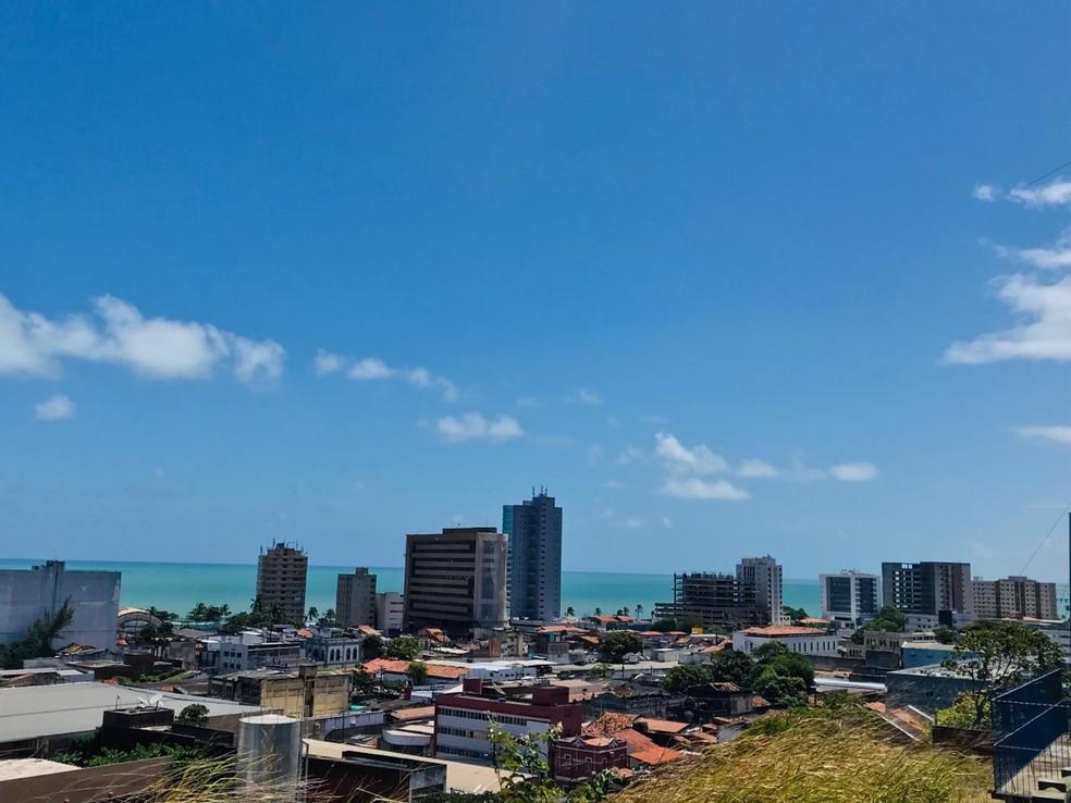 Fim de semana deve ser de sol e possibilidade de chuva em Alagoas — Foto: Vivi Leão/G1 AL