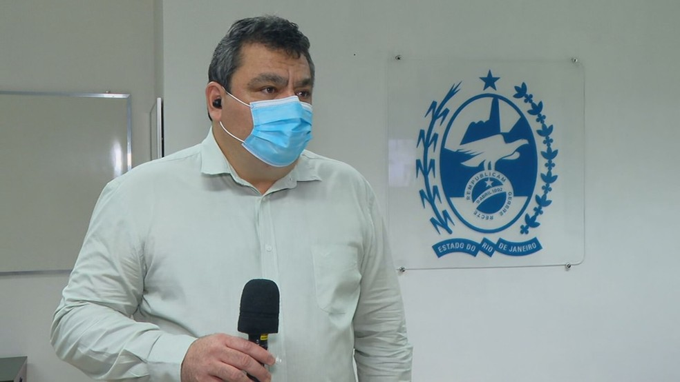 Secretário estadual de Saúde, Alexandre Chieppe — Foto: Reprodução/TV Globo