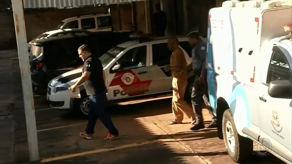 Acusado de matar ex-mulher foi ao julgamento em Tabapuã (Foto: Reprodução/TV TEM)