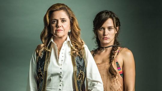Bianca Bin enaltece parceria com Marieta Severo em 'O Outro Lado do Paraíso'
