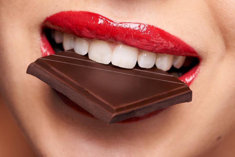 Chocolate tem propriedades  antioxidantes e anti-inflamatórias (Foto: iStock Getty Images)