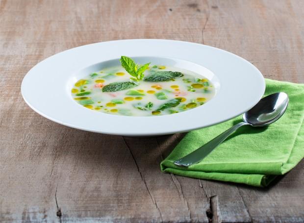 Sopa de azeite (Foto: Divulgação)