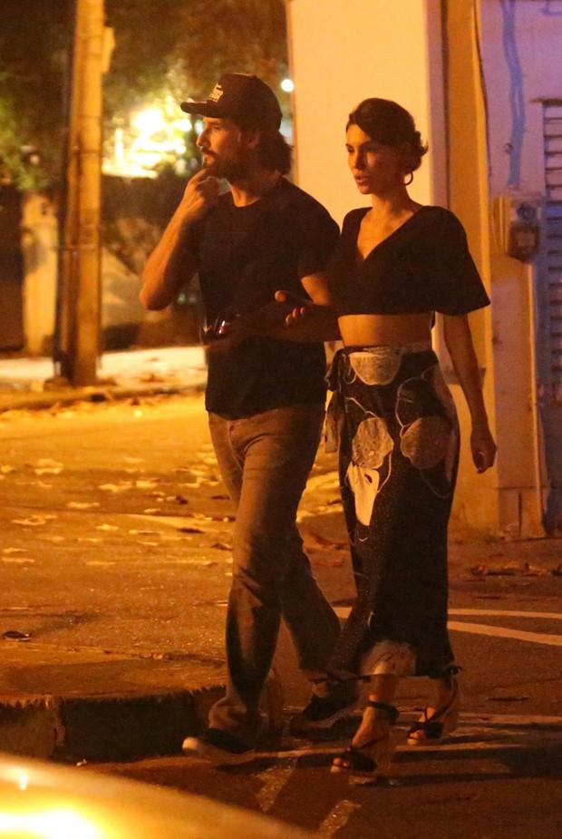 Rodrigo Santoro e Mel Fronckowiak (Foto: Thiago Martins/AgNews)