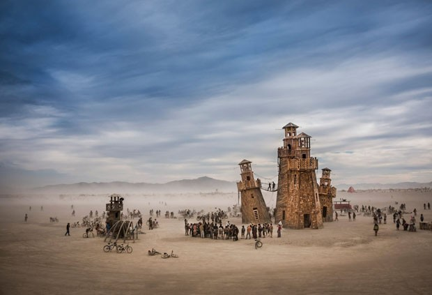 Black Rock Lighthouse Service, Burning Man, Nevada, EUA (Foto: Tom Stahl)
