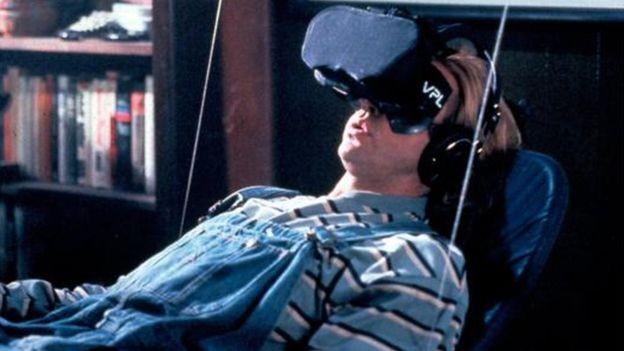 O cinema ainda não produziu coisas com a tecnologia alucinante exibida em filmes como O Passageiro do Futuro, de 1992 (Foto: ALAMY)