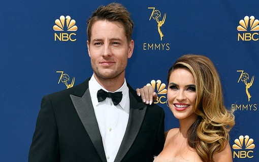 Justin Hartley e Chrishell-Hartley
