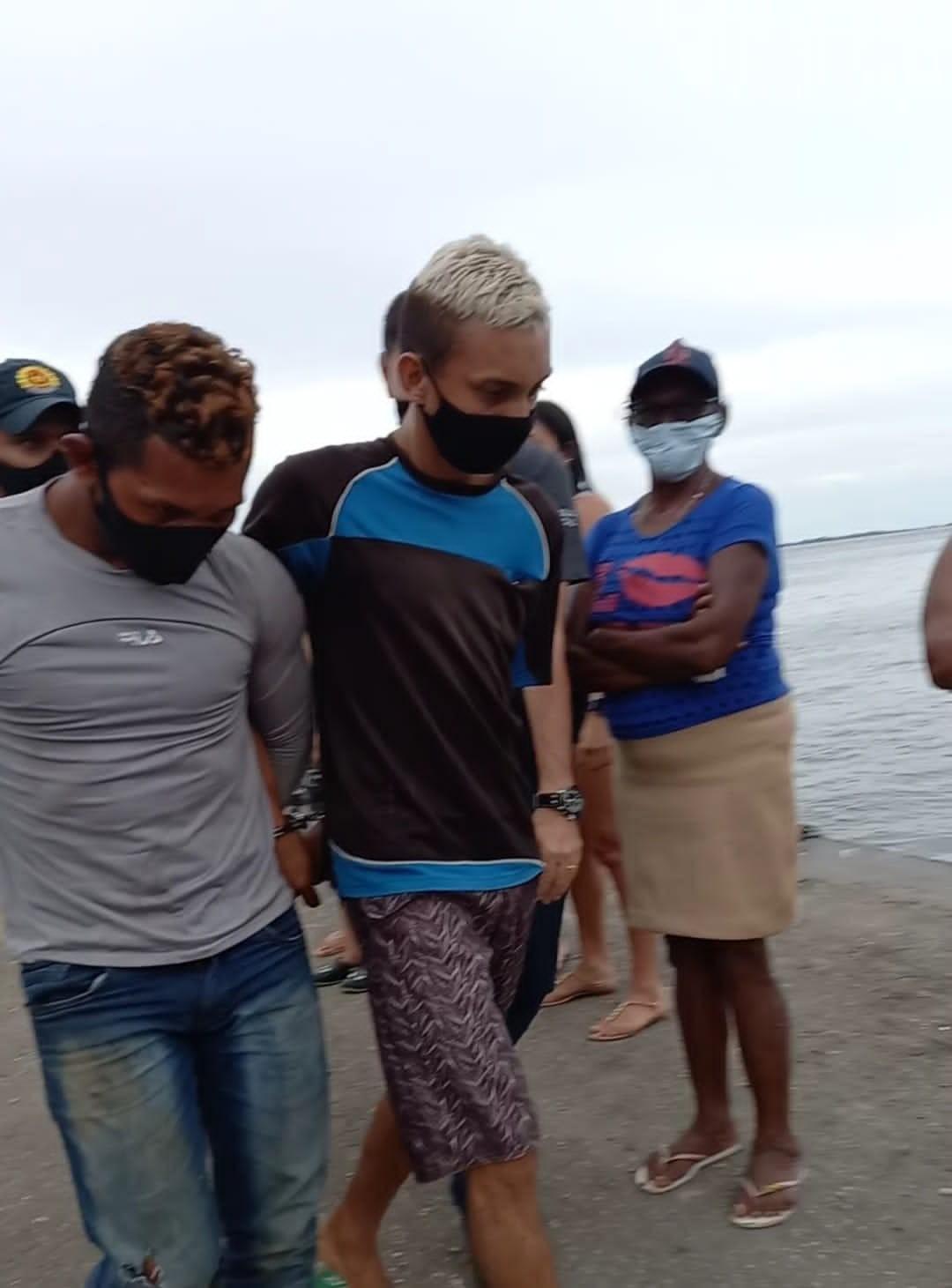 Polícia cumpre mandado de prisão preventiva contra dupla suspeita de matar jovem na comunidade Marajó, em Santarém
