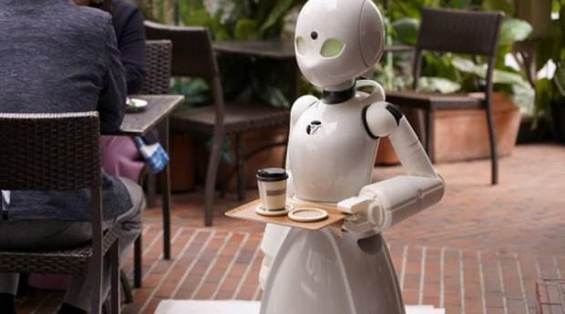 Robôs atendem em café japonês: tecnologia permitiu que pessoas com paralisia pudessem trabalhar (Foto: Reprodução)