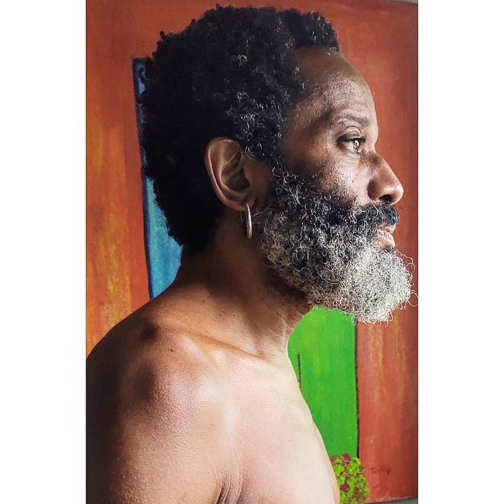 Flávio Bauraqui fala de reflexão no Dia da Consciência Negra  — Foto: Reprodução / Instagram