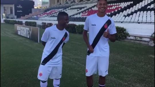 """Do video game à realidade: Lucas e Marrony """"reforçam"""" Seleção na Granja"""
