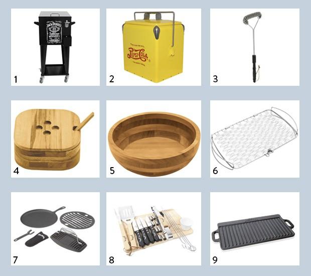 Produtos para churrasco (Foto: Divulgação)
