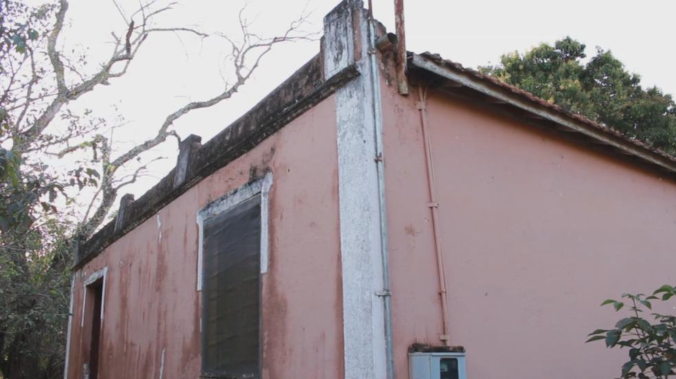 Poucas construções resistiram ao tempo em Japurá (Foto: Reprodução/TV TEM)