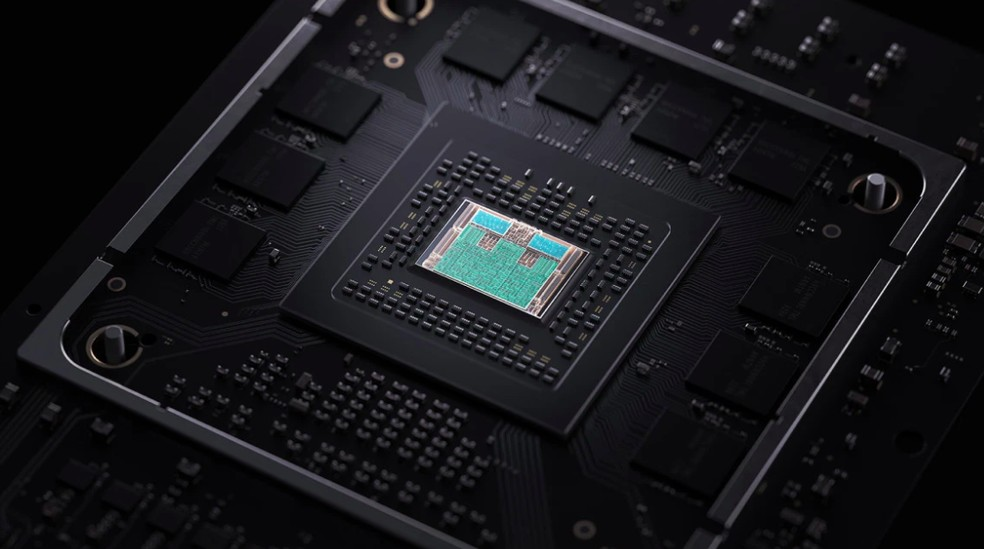 Processador gráfico do novo Xbox tem maior capacidade de processamento — Foto: Divulgação/Microsoft
