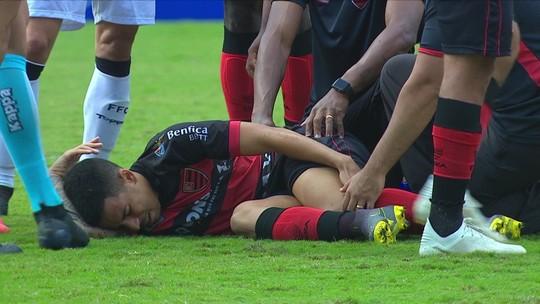 Guilherme rompe ligamentos do joelho e não joga mais pelo Oeste em 2019