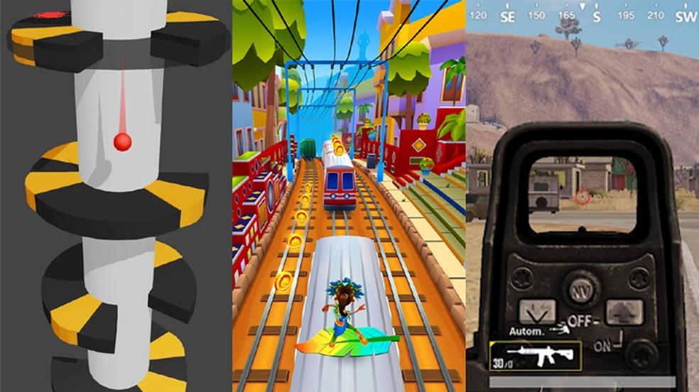 Helix Jump E Subway Surfers Sao Os Jogos Mobile Mais Baixados De 2018 Jogos Casuais Techtudo