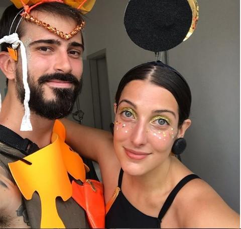 Clarice Falcão e o namorado, Guilherme Guedes (Foto: Reprodução/ Instagram)