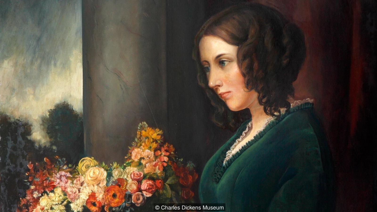 Catherine Dickens foi escritora e atriz (Foto: Dickens Museum )