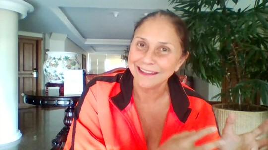 Maria Beltrão compara sua gargalhada com a de Fafá de Belém nos 10 anos do Estúdio i