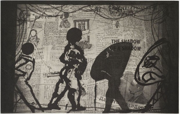 <em>The Nose</em>, 2010, de William Kentridge