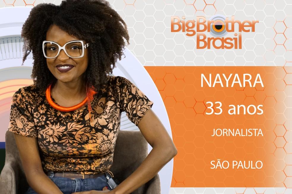 Nayara é participante do BBB18 (Foto: TV Globo)