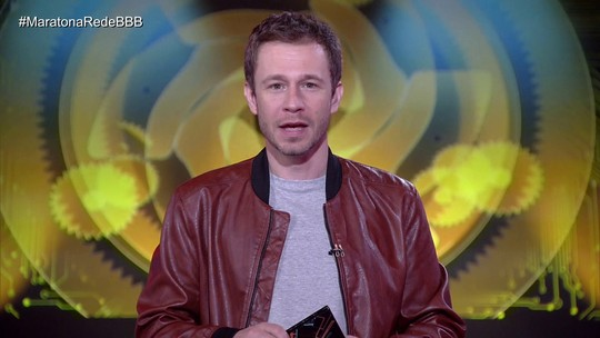Maratona Rede BBB! Tiago Leifert apresenta o Prêmio Rede BBB