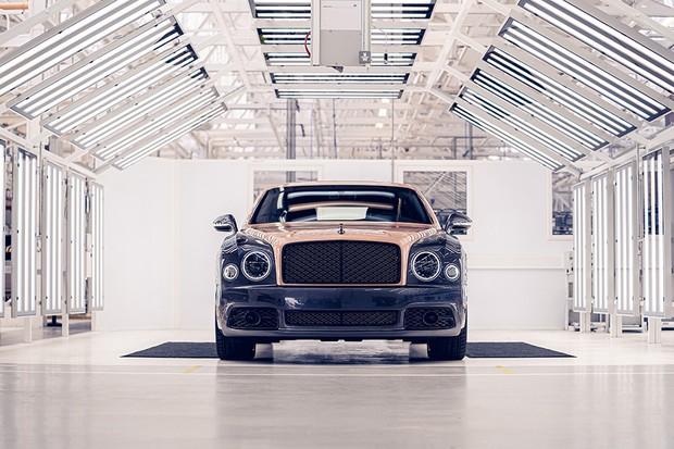 Bentley Mulsanne não será mais produzido (Foto: Divulgação)