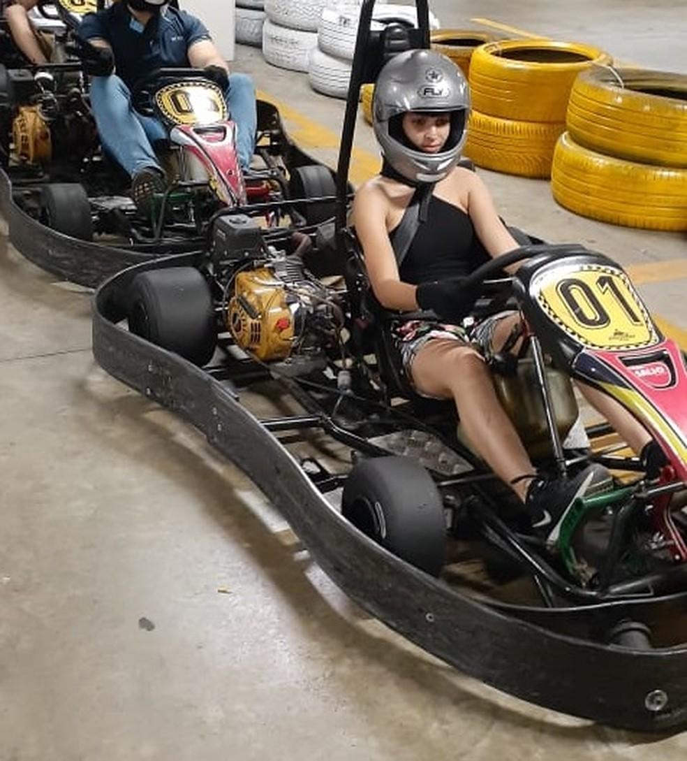 Jovem sofreu escalpelamento em pista de kart em Boa Viagem em agosto — Foto: Reprodução/WhatsApp