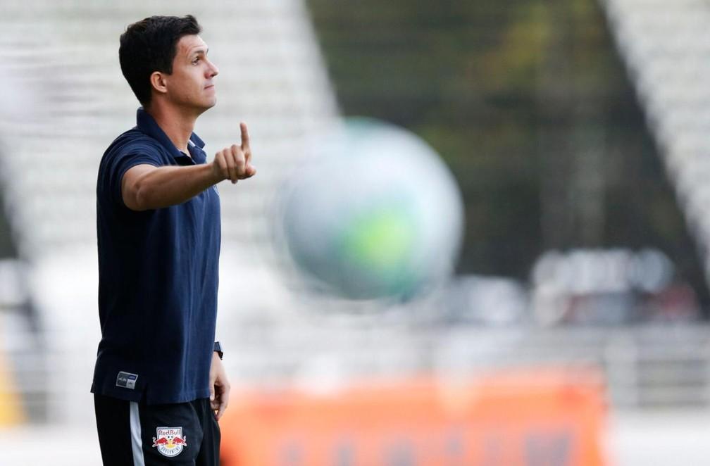 Mauricio Barbieri, técnico do Bragantino — Foto: Ari Ferreira/Red Bull Bragantino