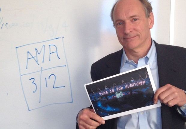 Tim Berners-Lee, o criador da World Wide Web (Foto: Reprodução/Reddit)