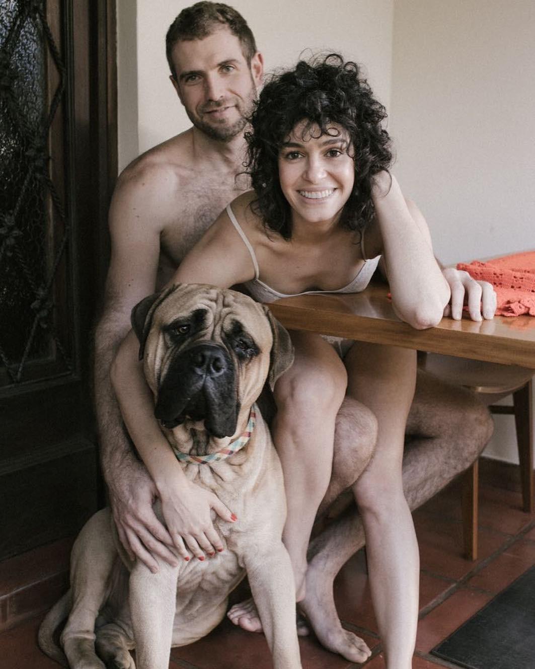 Maria Flor e família (Foto: Reprodução/Instagram)