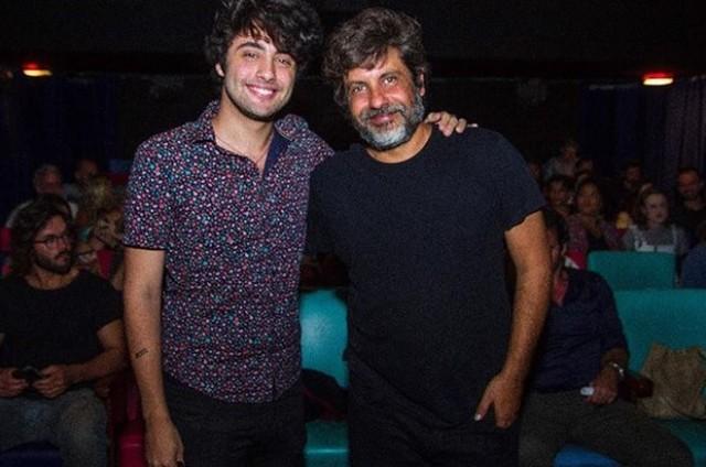 Lucas Vasconcelos e o pai, Pedro (Foto: Reprodução Instagram)