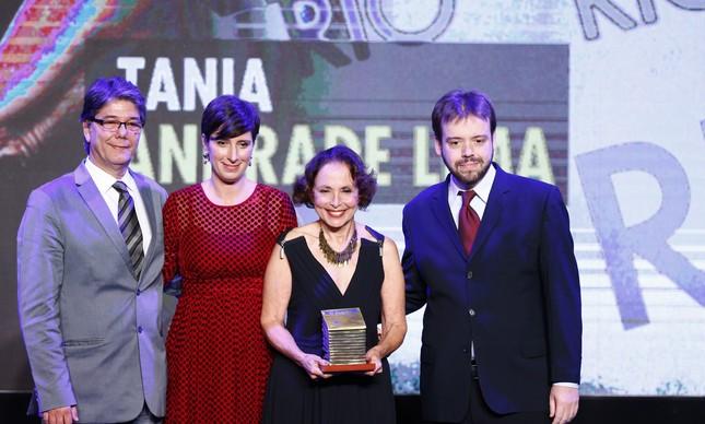 Paulo Motta, Gabriela Goulart, Tania Andrade de Lima e Humberto Tziolas