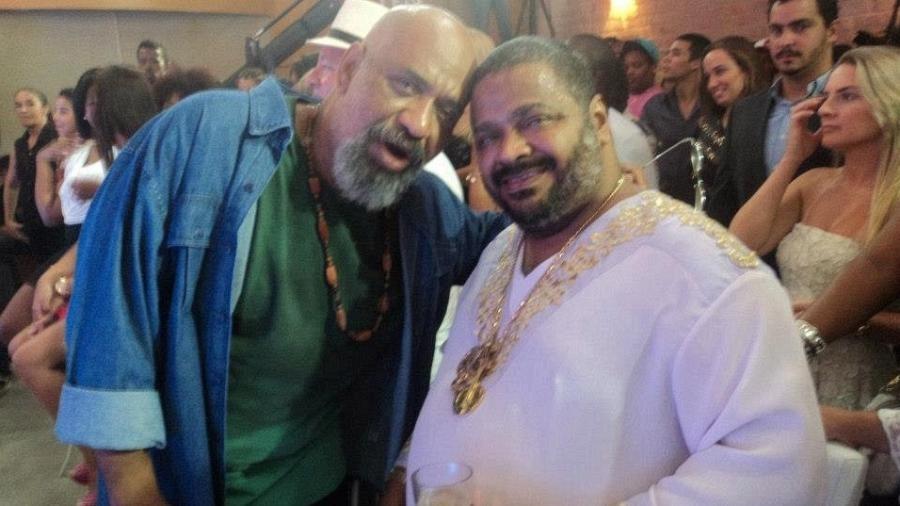 Arlindo e o irmão, Acyr da Cruz (Foto: Reprodução/Facebook)