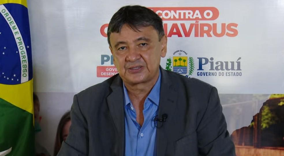 Governador Wellington Dias (PT)  — Foto: CCOM