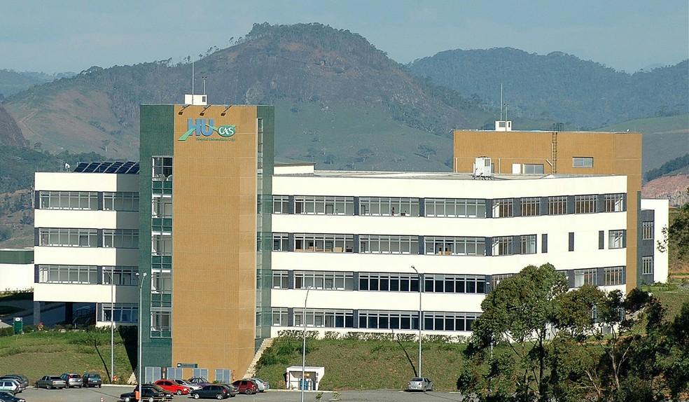Imagem de arquivo mostra um dos hospitais do HU-UFJF — Foto: Alexandre Dornelas/UFJF