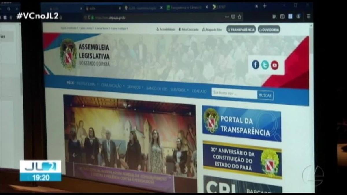 Portal da Alepa não dispõem de informações obrigatórias a respeito dos gastos públicos