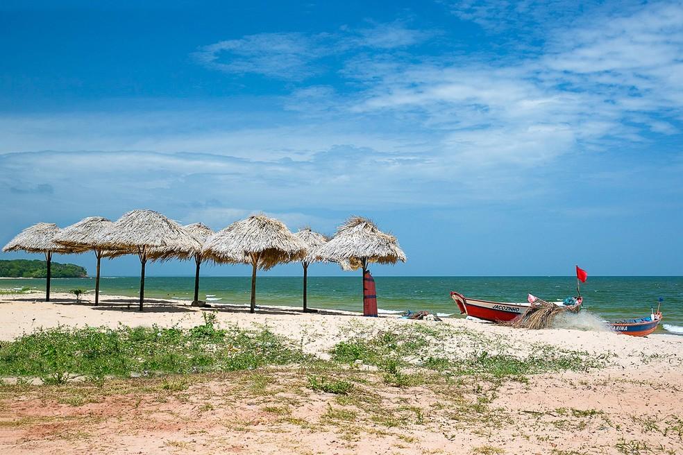 Praia de Joanes é atração no Marajó — Foto: Celso Lobo/ Arquivo Pessoal