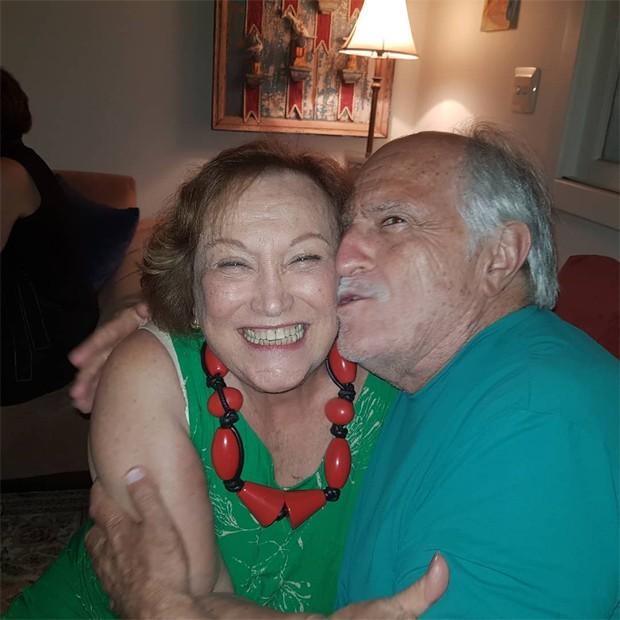 Nicette Bruno e Ary Fontoura (Foto: Reprodução/Instagram)