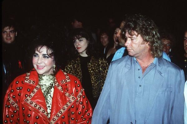 A atriz Elizabeth Taylor e seu ex, Larry Fontesky (Foto: Getty Images)