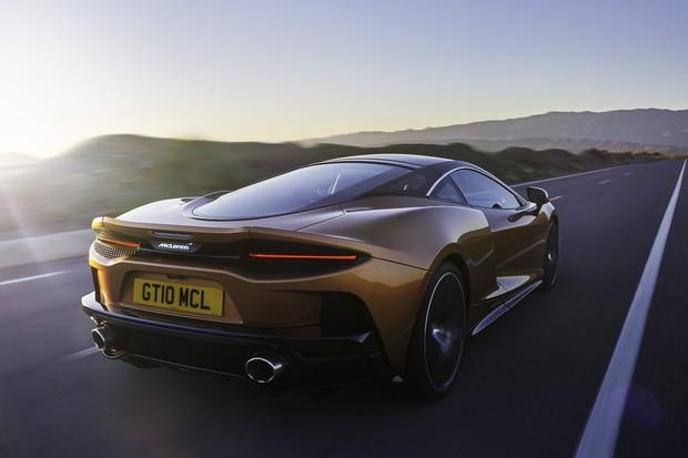 McLaren GT em ação (Foto: Divulgação)