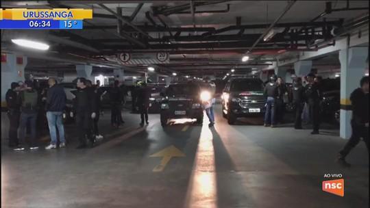 Operação da Polícia Civil contra organização criminosa cumpre 26 mandados de prisão em Blumenau