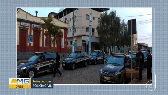 Polícia Civil prende suspeitos de envolvimento em homicídios em Santa Bárbara, na Região Central
