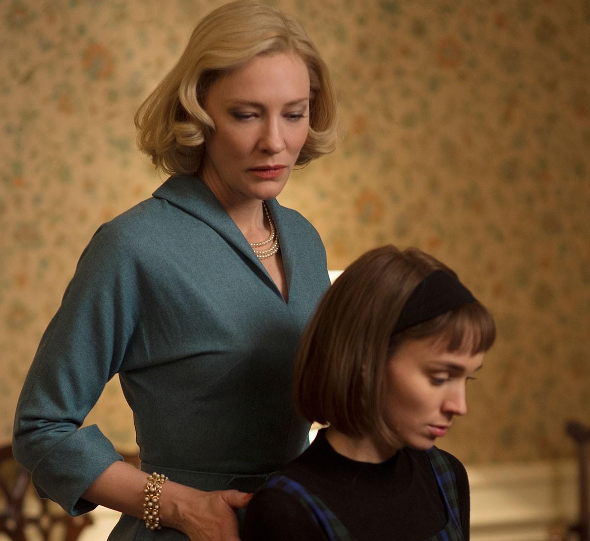 Cate Blanchett e Rooney Mara em cena de Carol (2015) (Foto: Divulgação)